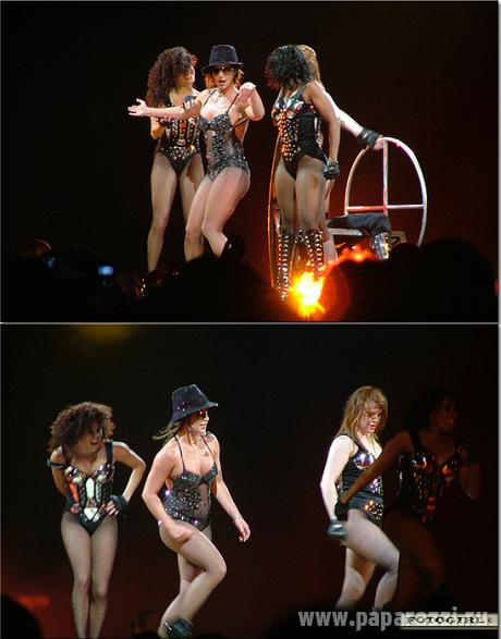 The Circus Starring: Britney Spears Tour. Moscow 21/07/09