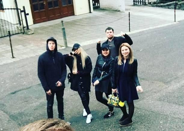 Накануне свадьбы Никита Пресняков и Алена Краснова отправились в Прагу
