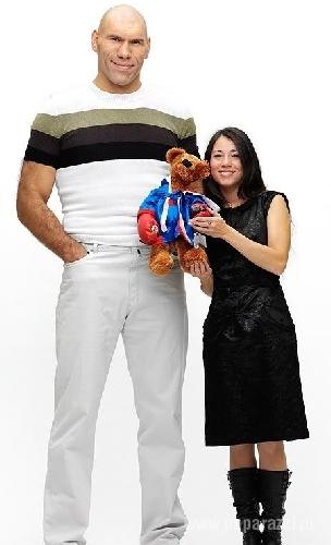 николай валуев с женой и детьми фото