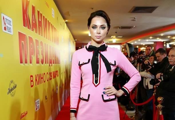 Настасья Самбурская сходила в кино со своим бывшим