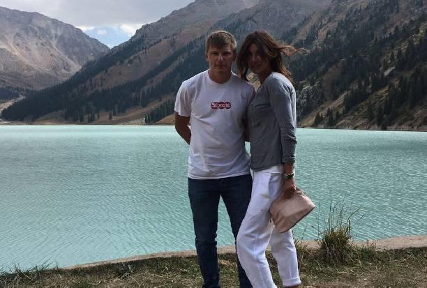 Супруга Андрея Аршавина показала редкий семейный кадр