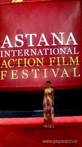 Анна Потапова посетила astana action film festival