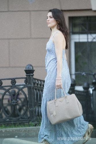 фото беременной сати казановой