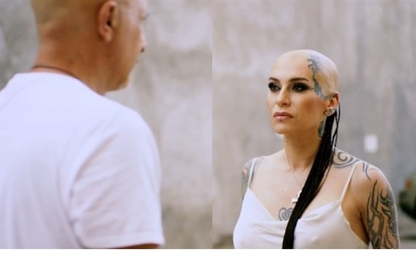 Анастасия Немец В Черное Белье – Проснемся Вместе? (2012)
