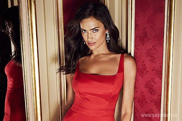 Ирина Шейк поучаствовала в эротичной фотосессии во дворце