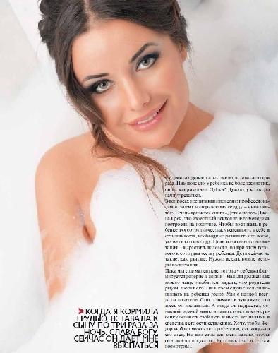 Оксана Федорова разделась для журнала StarHit