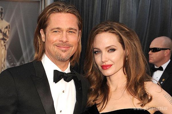 В сеть попали эксклюзивные кадры со съемок нового фильма Анджелины Джоли и Брэда Питта