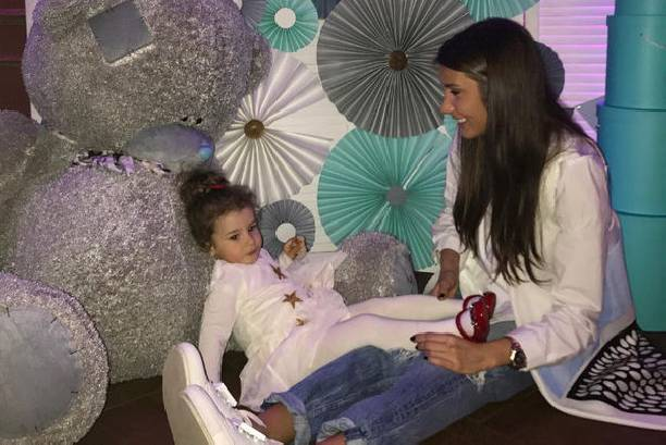 Кети Топурия отметила день рождения дочери без супруга