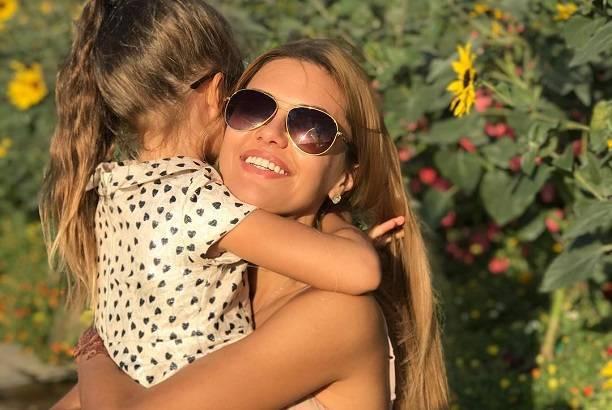 Виктория Боня договорилась с мужем по поводу дочери