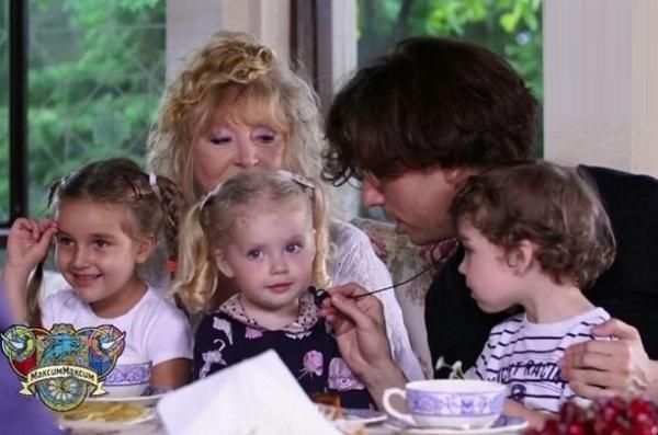 маргарита марсо с детьми фото