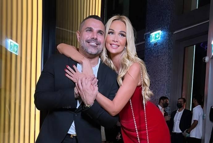 Виктория Лопырева появилась на светской вечеринке в Дубае в платье с умопомрачительным разрезом