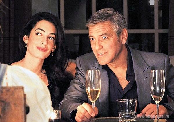 Джордж Клуни познакомился с будущей тещей