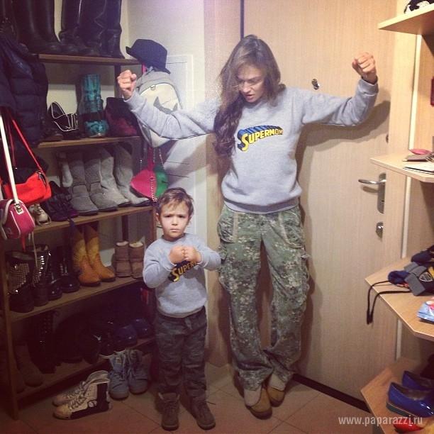 алена водонаева с сыном фото 2016