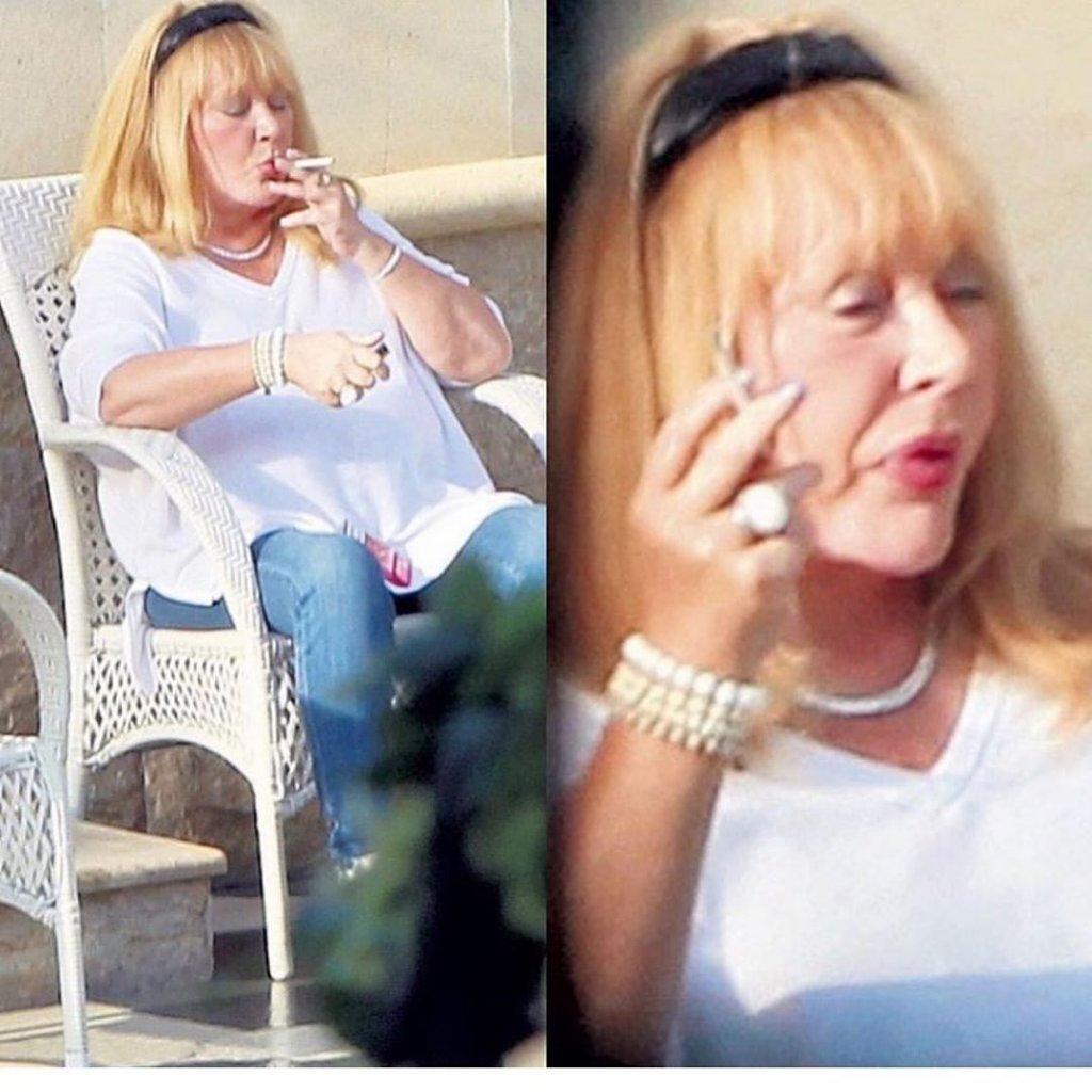 Алла Пугачёва без макияжа папарацци курит 2019