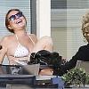 Линдси Лохан ужаснула своим внешним видом в купальнике