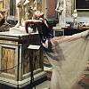 Ксения Собчак сделала селфи с Канье Уэстом и поразила красивым беременным платьем