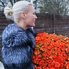 Лена Летучая намекнула на беременность, появившись на Неделе моды в Москве