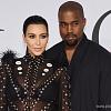 Беременная Ким Кардашян не перестает носить огромную шпильку