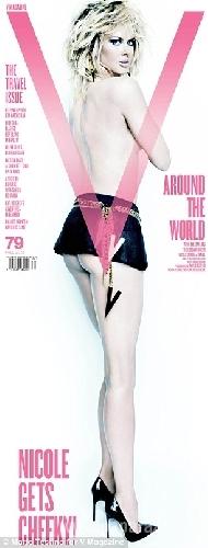 45-летняя Николь Кидман разделась для журнала