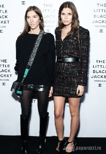 Открытие выставки Chanel: The Little Black Jacket в Москве