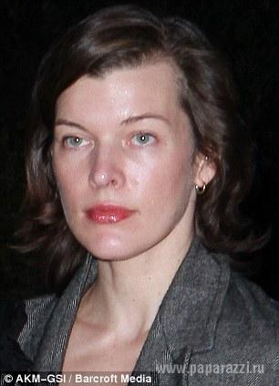 Милла йовович без макияжа
