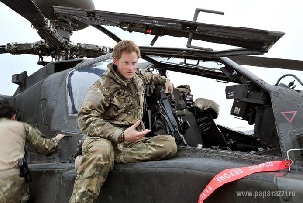 """""""Принц-воин"""" Гарри возвращается из Афганистана"""