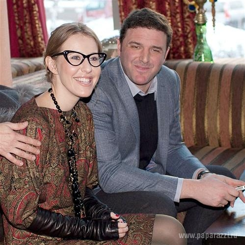 Ксения Собчак и Максим Виторган отправились в страну любви