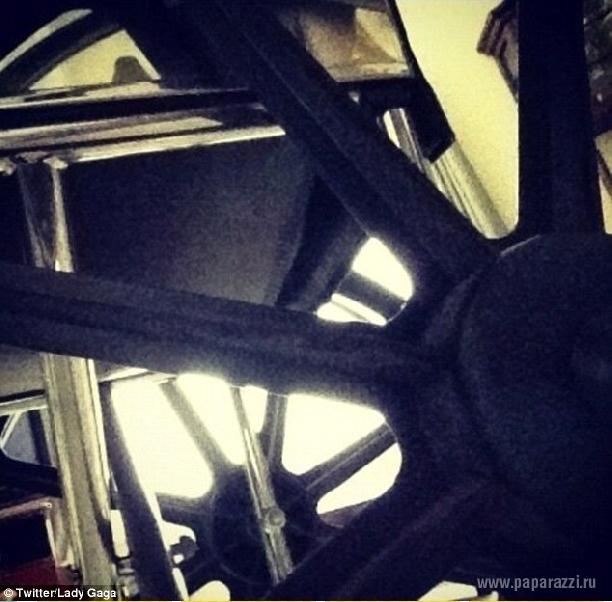 Певица Леди Гага купила инвалидную коляску из золота