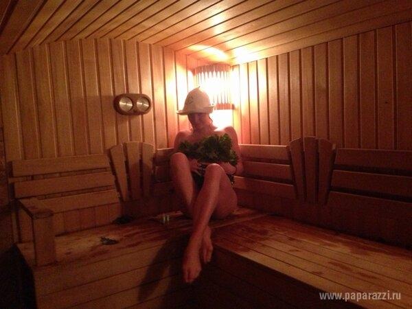 Анастасия Волочкова выложила новую фотографию из бани