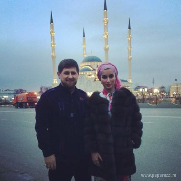 Ксения Собчак и Тина Канделаки продолжают сражаться за внимание Рамзана Кадырова