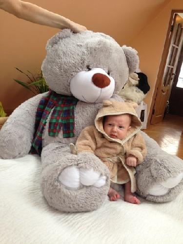 В сети появилось первое фото сына Ольги и Ильи Гажиенко