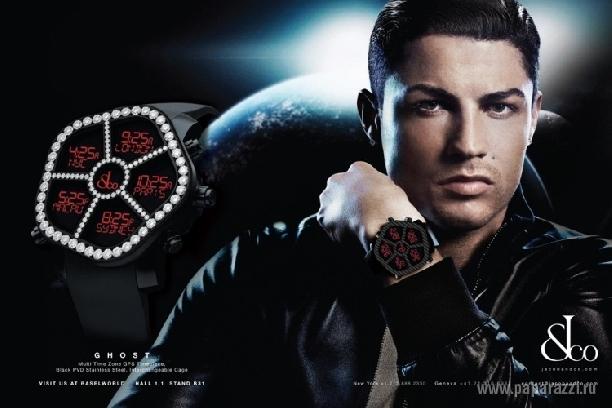 Криштиану Роналду рекламирует часы Jacob & Co