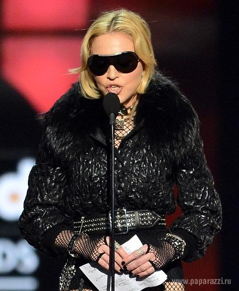 Певица Мадонна сильно поправилась
