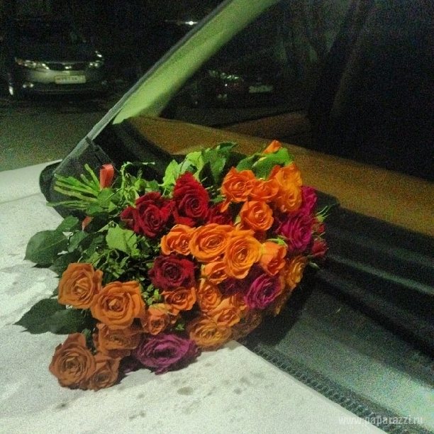 Ксения Бородина вновь примерила свадебное платье