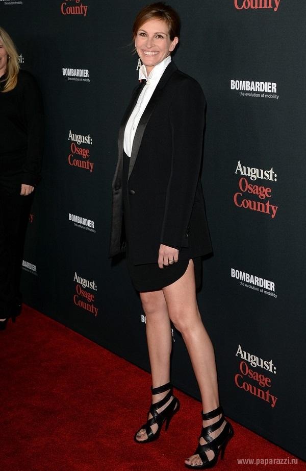 Актриса Джулия Робертс выбрала довольно странную форму прически