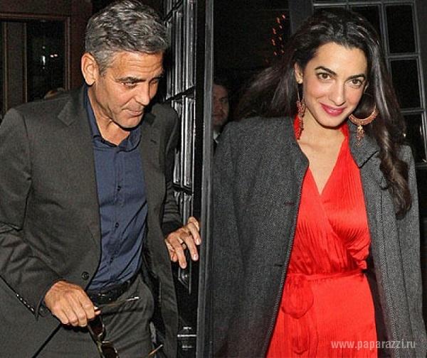 Актер Джордж Клуни стал жертвой грабителей