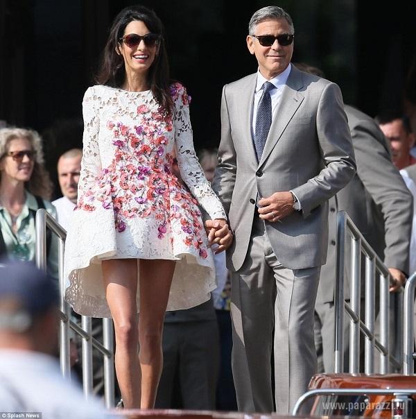 Джордж Клуни изменился в лице после свадьбы