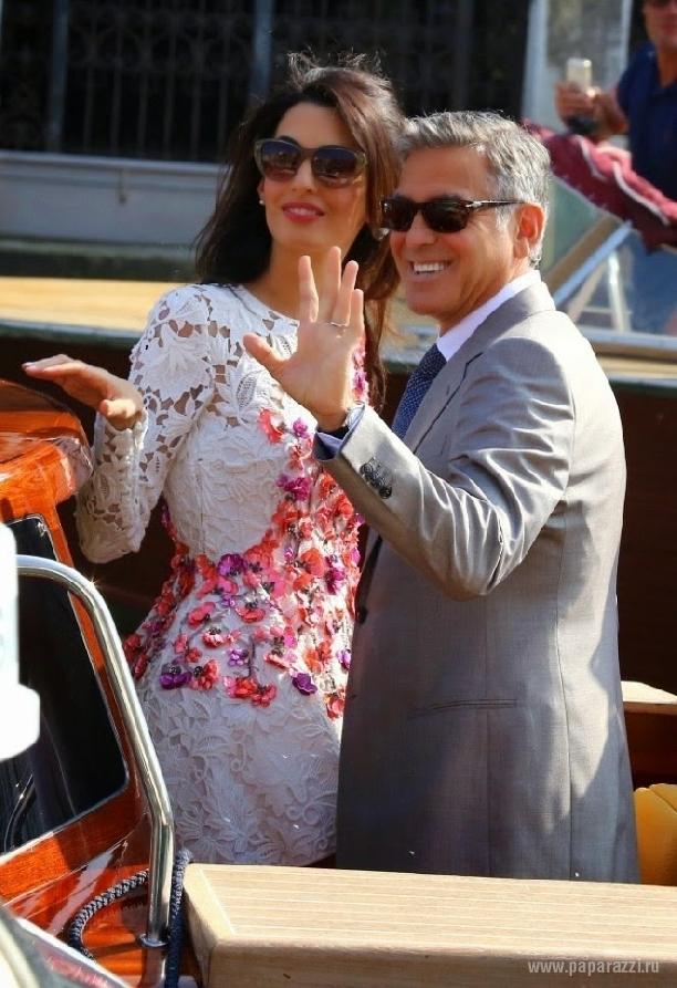 Джордж Клуни подарил Амаль Аламуддин роскошный особняк