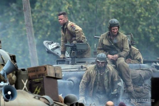 Брэд Питт рассказал о жизни в танке брэд пит фильм танк