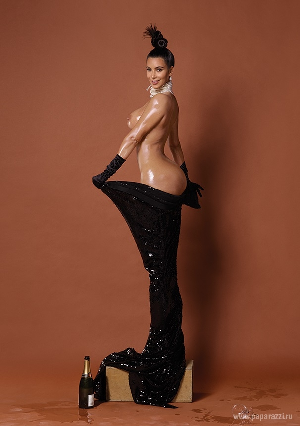 Ким Кардашьян Фото Голая