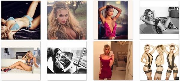 Эла Роуз устроила эротическую фотосессию со своей подружкой