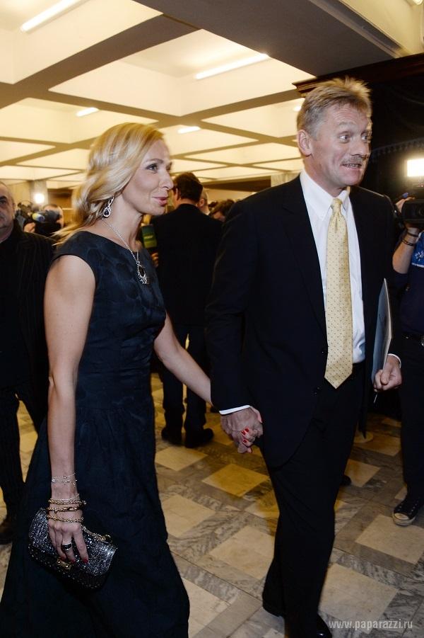 Дмитрий Песков и Татьяна Навка стали одной из самых красивых пар не церемонии вручения премии «Золотой орел»