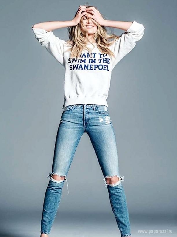 девушки отжигают в джинсах