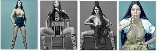 Сестра Ким Кардашян Кендал Дженнер выложила скандальную фотосессию