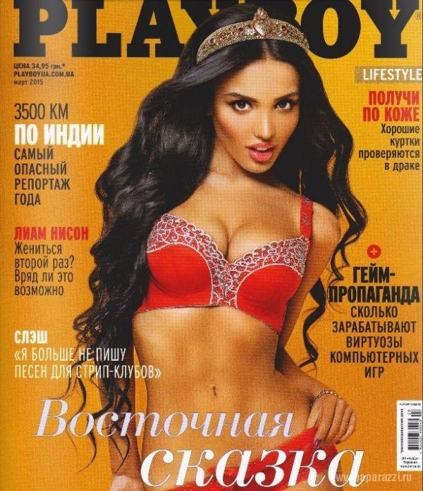 Модель из Киева Ясмин Кадери снялась для журнала Playboy