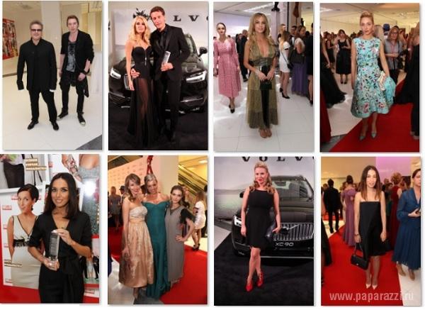 Саша Савельева очаровала гостей модной премии своими ножками в прозрачном платье