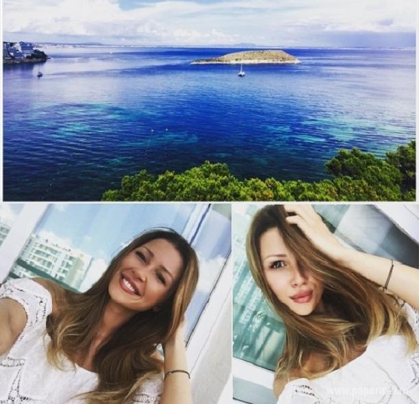 Анна Заворотнюк показала романтичный снимок с любимым на море