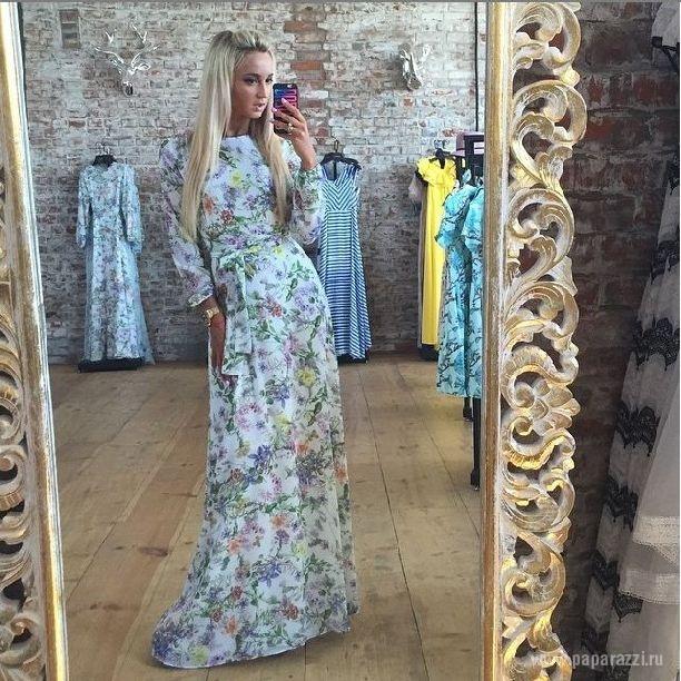 Красивые платья бузовой
