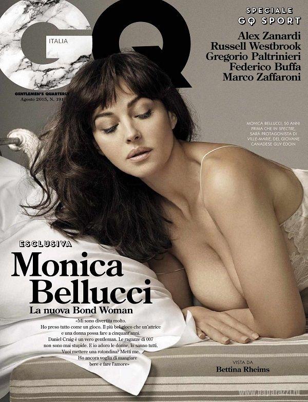 Моника Беллуччи призналась, что женщины нравятся ей больше, чем мужчины
