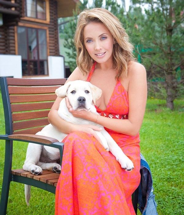 Собака Жанны Фриске оказалась родственником питомца Владимира Путина